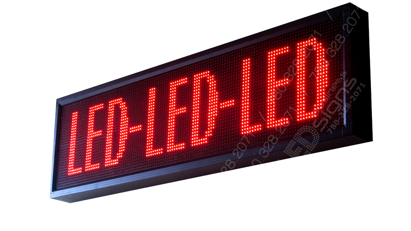 business led signs by pcwhoop electronics ltd 187 led signs two colour 40cm height