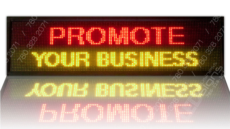 Business led signs by pcwhoop electronics ltd cost effective marketing for How much do exterior business signs cost